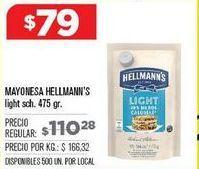 Oferta de Mayonesa Hellmann's por $79