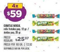Oferta de Gominolas Mogul por $59