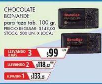 Oferta de Chocolate Bonafide por $133,23