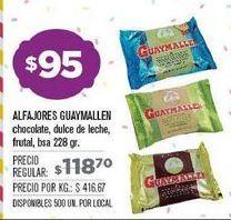Oferta de Alfajores Guaymallen por $95