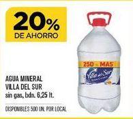 Oferta de Agua Villa del Sur por