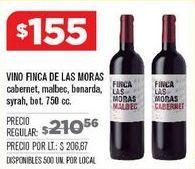 Oferta de Vino tinto por $155