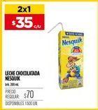 Oferta de Chocolatada Nesquik por $35