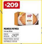 Oferta de Milanesas Paty por $209