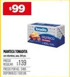 Oferta de Manteca Tonadita por $99