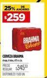 Oferta de Cerveza Brahma por $259