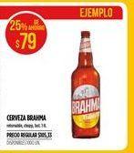 Oferta de Cerveza Brahma por $79