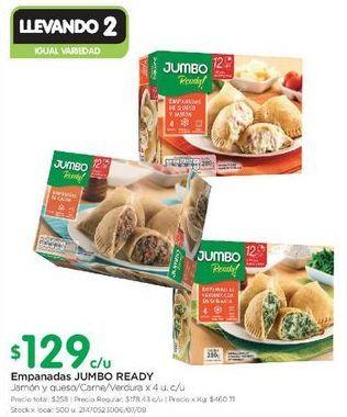 Oferta de Empanada JUMBO READY  por $129