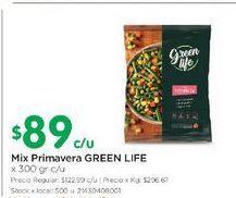 Oferta de Mix primavera GREEN LIFE 300gr  por $89