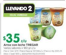 Oferta de Arroz con leche Tregar 180gr  por $35