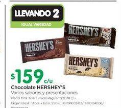 Oferta de Chocolate HERSHEY'S  por $159