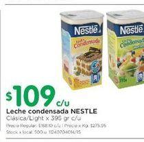 Oferta de Leche condensada Nestlé 395gr por $109