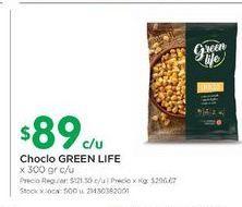 Oferta de Choclo GREEN LIFE 300gr por $89