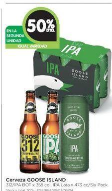 Oferta de Cerveza Goose island  por