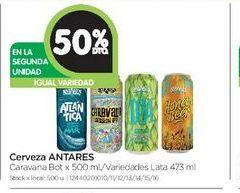 Oferta de Cerveza Antares 500ml  por