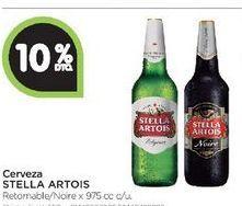 Oferta de Cerveza Stella Artois 975cc  por