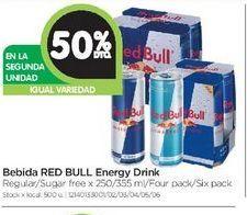 Oferta de Bebida Red Bull por