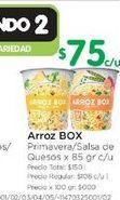 Oferta de Arroz BOX 85GR por $75