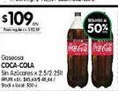 Oferta de Gaseosas Coca cola por $109