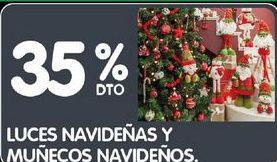 Oferta de Luces navideñas y muñecos navideños  por
