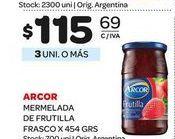 Oferta de Mermelada Arcor de frutilla 454gr  por $115,69