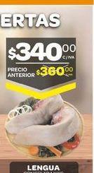 Oferta de Lengua de cerdo por $340