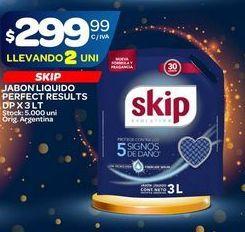 Oferta de Jabón líquido Skip 3lt  por $299,99