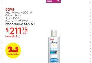 Oferta de Agua Micelar x 200 ml. Dove por $211,75