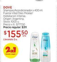 Oferta de Shampoo/Acondicionador x 400 ml. por $155,5