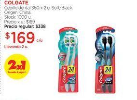 Oferta de COLGATECepillo dental 360 x 2 u. por $169