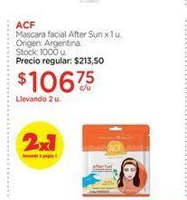 Oferta de ACFMascara facial After Sun x 1 u. por $106,75