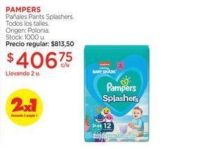Oferta de PAMPERSPañales Pants Splashers. por $406,75