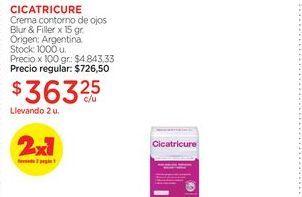 Oferta de Crema contorno de ojos Blur & Filler x 15 gr.  Cicatricure por $363,25