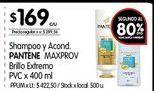 Oferta de Shampoo y acond. Pantene 400ml por $169
