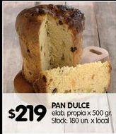 Oferta de Pan dulce por $219