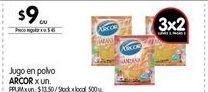 Oferta de Jugo en polvo Arcor por $9