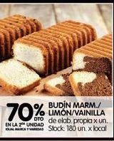 Oferta de Budín marm/limon/vainilla  por