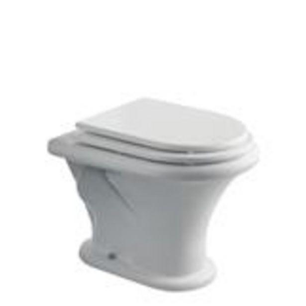 Oferta de Inodoro Corto Murano Ferrum 38,5x55,5cm blanco IUCJ por $24109,19