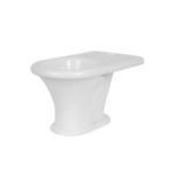 Oferta de Inodoro largo Murano Ferrum 38,5x66,2cm blanco IULJ por $24109,19