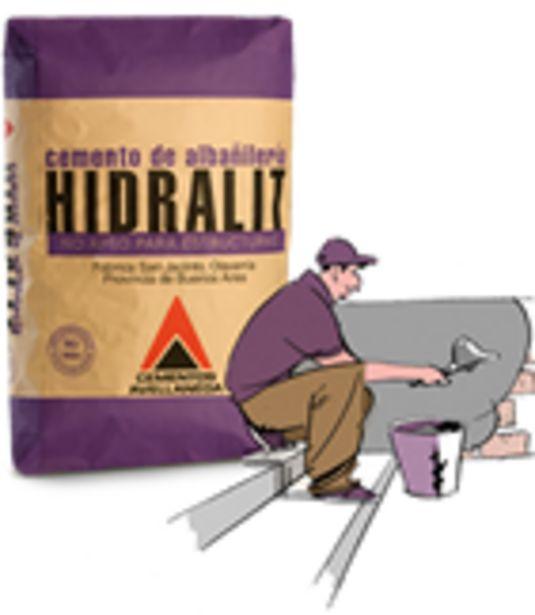 Oferta de Cemento Albañileria Hidralit Avellaneda 40kg por $836,86