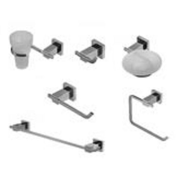 Oferta de Kit Accesorios 6 piezas Geometry Hidromet cod. 2882 por $43301,6