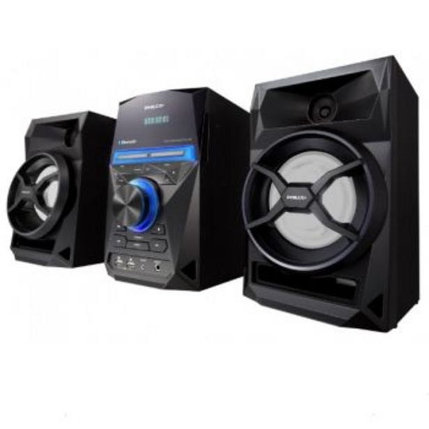 Oferta de MINICOMPONENTE PHILCO 1500W PMPO CD/MP3/BT/USB X2 por $19899