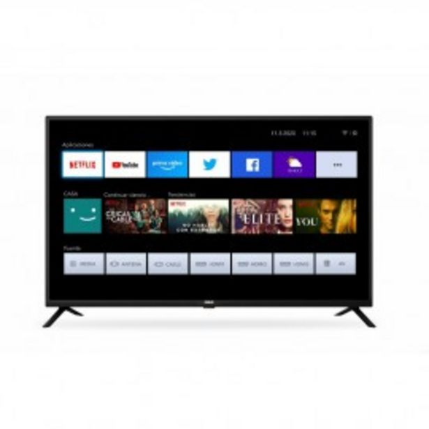 "Oferta de SMART TV 43"" FULL HD RCA XF43SM por $36399"