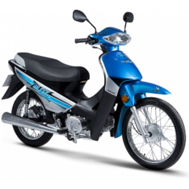 Oferta de MOTO MOTOMEL BLITZ 110 V8 por $86999