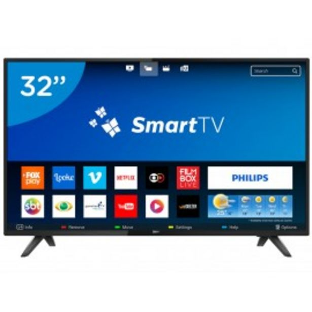 "Oferta de SMART TV 32"" PHILIPS HD 32PHG5813/77 por $34790"