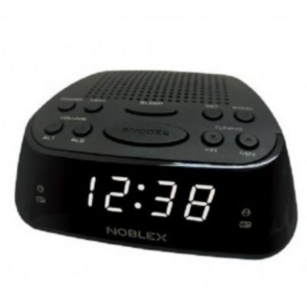 Oferta de RADIO RELOJ NOBLEX RJ960 DESPERTADOR por $3599