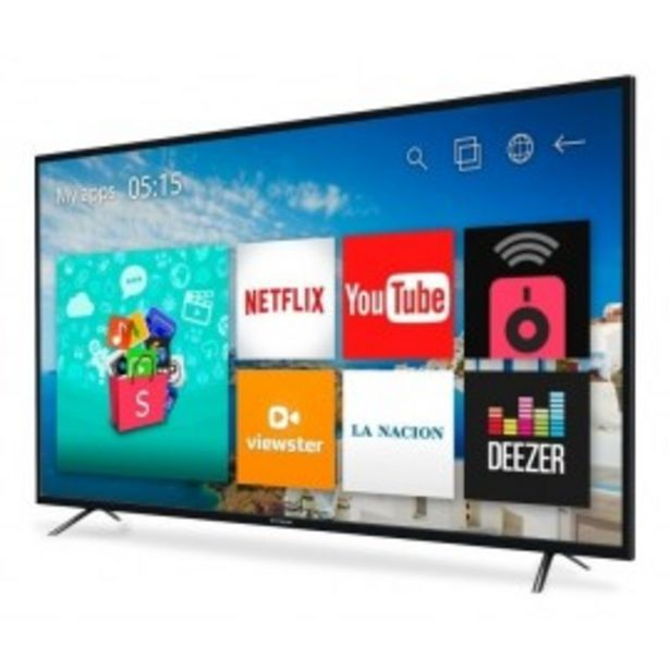 "Oferta de SMART TV 50"" 4K HITACHI CDH-LE504KSMART20 ANDROID por $52999"