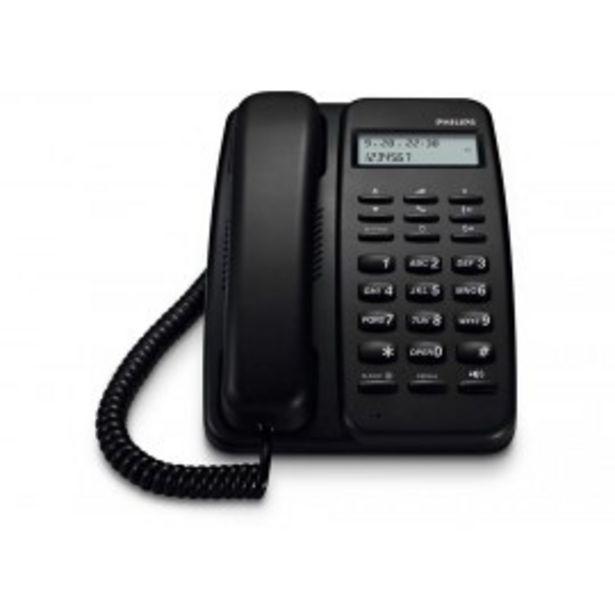 Oferta de TELEFONO DE MESA PHILIPS CDR150B/77 por $3499
