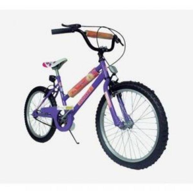 """Oferta de Bicicleta Rodado 20"""" UNIBIKE BMX Nena 200120 por $20219"""