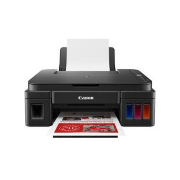 Oferta de Impresora Multifunción con Sistema de Tinta Continua CANON G3110 WiFi con Tintas por $34999